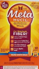 Meta Mucil 4 in 1 MultiHealth FIBER! Orange Flavor NIB E2