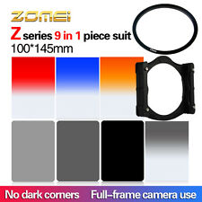 Zomei 100*150mm GND4 Blue Orange Red ND2 ND4 ND8 Holde 77mm Ring Filter Kit