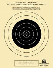 TQ-3/1 NRA Official 50 Yard Smallbore Rifle Target ( 100 pack ) [ aka A-9 ]