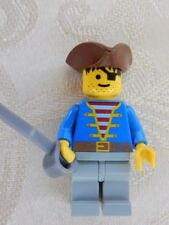 LEGO Pirate Minifigure with blue jacket from 6285 10040 6279 6254