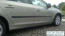 Body Side Mouldings Door Molding Protector 4 pcs Trim for Volvo V60 2010-