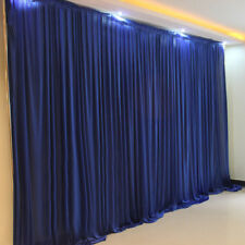 3*6M royal blue wedding backdrop curtain drapery background for stage decoration