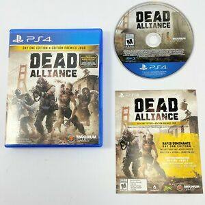 Dead Alliance PS4 (Sony Playstation 4, 2017)