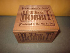 JRR Tolkien's Classic The Hobbit- Produced by Mind's Eye - Wooden Box Set