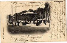 CPA CONCERT A LA PLACE VERTE  (190823)