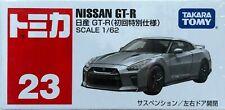 Takara Tomy TOMICA 23 NISSAN GTR 1:62 MODEL DIECAST CAR BRAND NEW SILVER