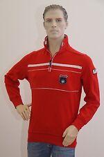 Christian Berg Polo Poloshirt rot Langarm Herren Größe M (1704G-PA-OH3)