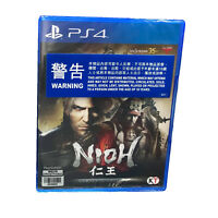NIOH Complete Edition PlayStation PS4 2017 English Chinese Japanese Sealed