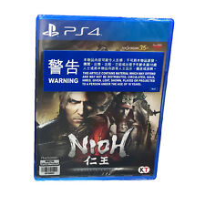 NIOH Complete Edition PlayStation 4, 2017, English Chinese Japanese Pre-Owned