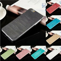 For Iphone 6 6S 6 Plus 6S Plus Ultra Thin Brushed Case PC Hard Back Cover Skin