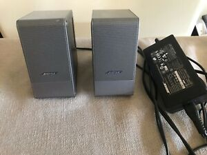 Bose Computer MusicMonitor Speakers, TESTED AND SOUND GREAT