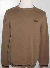 HARLEY DAVIDSON Mens L Pullover Sweater METAL PLATE LOGO