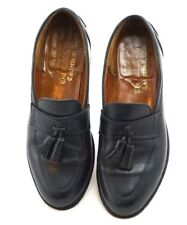Vintage Loake The British Isle Collection Women's 7.5 tassel loafers Navy