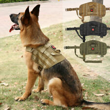 Tactical Dog Harness Breathable Training Clothes K9 Working Dog Coat with Handle