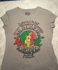 Grateful Dead T Shirt Hippy Authentic Artists Logo Travel Tour Band XL15-17girls
