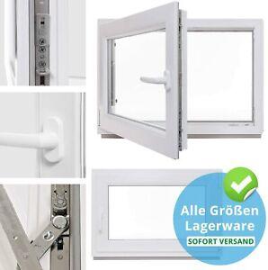 Kellerfenster - Kunststoff - Fenster - weiß - BxH: 100 x 50 cm 3-fach-Verglasung