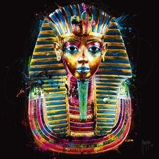 Patrice Murciano Tutanchamun Fertig-Bild 50x50 Wandbild bunt modern Ägypten Kult