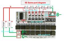 5s Cells 18.5V 21V 60A Li-ion Lithium 18650 Battery BMS Protection Balance Board