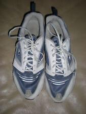 Men's Starter Nylon & Leather Running Sneakers size 11 Blue White & Gray