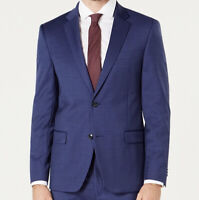NWT Tommy Hilfiger Men's Modern-Fit TH Flex Stretch Blazer Dark Navy Size 46R