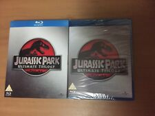 New JURASSIC PARK ULTIMATE TRILOGY Blu-ray Box Set + Slip Cover