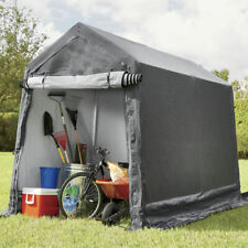 Impact Canopy Portable Storage Shed Garage Motorcycle Cover Tool Lawnmower Shed