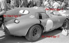 Phil Hill Shelby Cobra Daytona Coupe Spa fotografía 500 km 1964 1