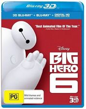 Big Hero 6 (Blu-ray, 2015)