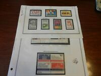 Lot of 28 United States 1974 Stamps MNH Blocks and Singles, Revolution, Postal
