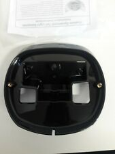 Custom Dynamics Black Taillight Base Plate 99-17 Harley Dyna Touring Softail XL
