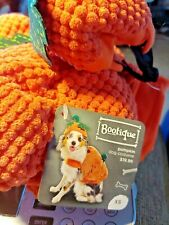 "Bootique Dog Costume Pumpkin Hat XS X-Small New 11-13"" Halloween 2687299 Pet"