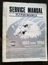 New Listing1993 1994 Harley-Davidson Flt Fxr Service Repair Shop Manual Factory Like New Hd