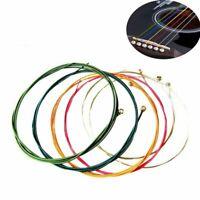 des cordes de guitare acoustique coloré un instrument de musique, des pièces