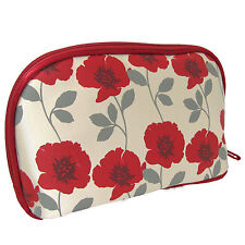 Makeup Travel Bag Danielle Toiletry Cosmetic Wash Pouch Organizer Holder Poppy