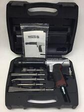 Matco Tools Long Barrel Air Hammer With Quick Release Chuck 5 Bits Mt2816 w/Case