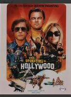Quentin Tarantino signed 11x14 Once Upon a Time in Hollywood PSA coa