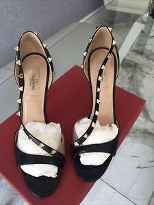 Valentino Rockstud Sandals Size 39.5 ( Fit Size 7 )