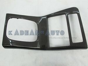 CARBON RHD RADIO CONSOLE SURROUND (REPLACEMENT) FOR S13 SILVIA 180SX
