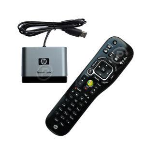 HP MCE Combo Kit Microsoft Windows Media Center Remote Control + USB IR Receiver