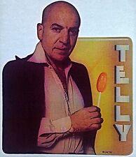 Original 1975 Telly Iron-On Transfer Kojak Telly Savalas Tv Show