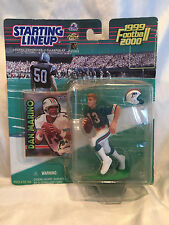 *Collectible 1999/2000 Dan Marino Starting Lineup SLU Miami Dolphins New On Card