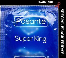 ☼ JOYEUX NOEL ☼ Lot de 10 préservatifs Taille XXL PASANTE SUPER KING