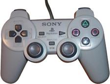 Sony Playstation Officiel Double contrôleur analogique, gris