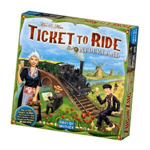Ticket to Ride Nederland Board Game - Days of Wonder