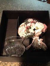 Waterford MOTHER'S DAY VASE 2007 1st Edition Pink Roses