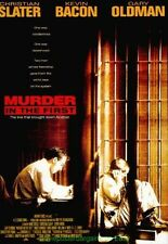 MURDER IN THE FIRST MOVIE POSTER Original DS 27x40 CHRISTIAN SLATER KEVIN BACON