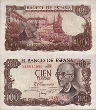 ERROR. 100 PESETAS AÑO 1970. Manuel de Falla.