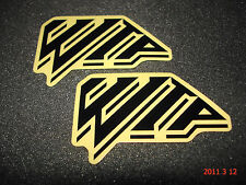 2 AUTHENTIC WTP WETHEPEOPLE BMX BIKE CO. STICKERS / DECALS #31 AUFKLEBER