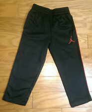 Boys Jordan Therma-Fit Pants - Black and Red - Size 3T - NWT - Retail $48