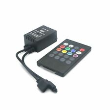 20Keys IR Black Music Remote Controller for RGB 5050/3528/2835 LED Strip Light